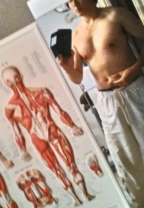 ダイエット前の身体