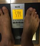 マイナス7キロの減量に成功